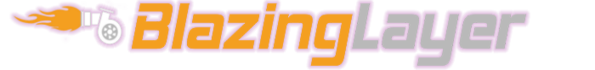 BLAZINGLAYER - Logo